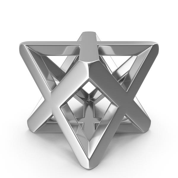 Silver Merkaba Symbol PNG & PSD Images