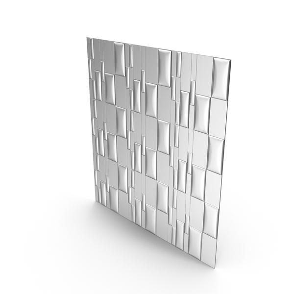 Silver Panel Wall PNG & PSD Images