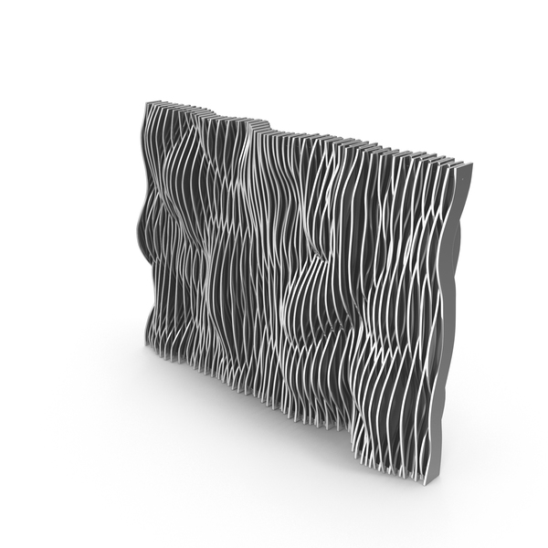 Silver Parametric Wall PNG & PSD Images
