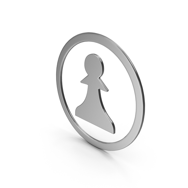 Silver Pawn Symbol PNG & PSD Images