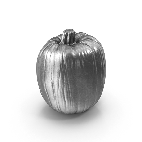 Silver Pumpkin PNG & PSD Images