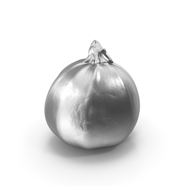 Silver Round Zucchini PNG & PSD Images