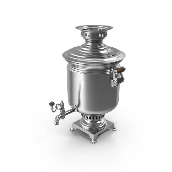 Silver Samovar Object