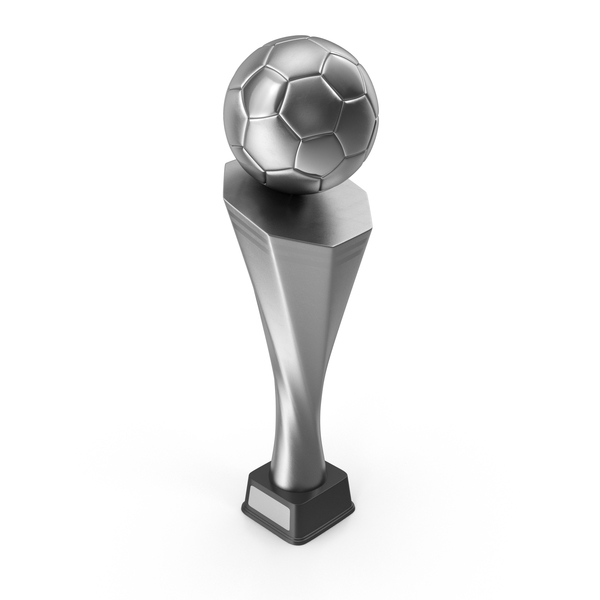 Silver Soccer Trophy Cup PNG & PSD Images
