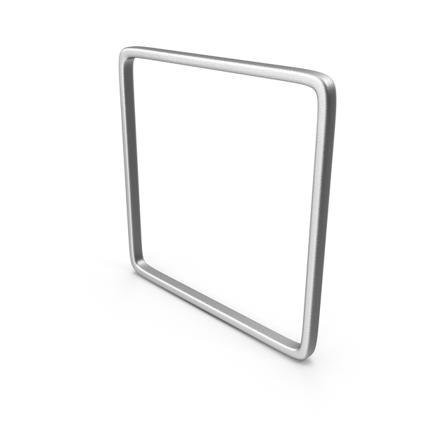 Cube: Silver Square PNG & PSD Images