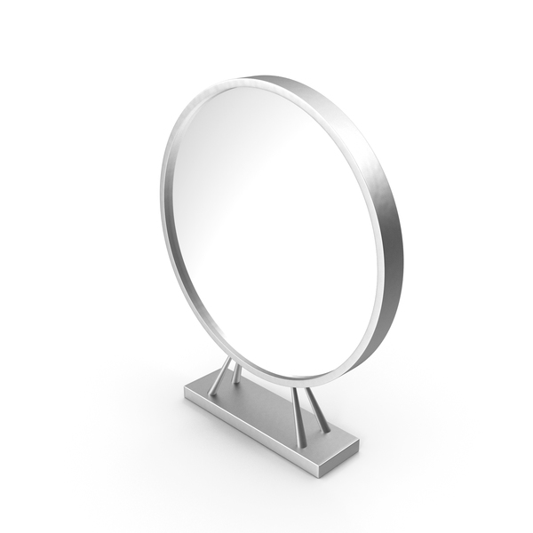 Silver Standing Mirror PNG & PSD Images