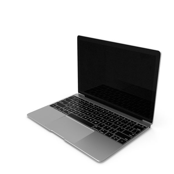 Silver Thin Laptop PNG & PSD Images