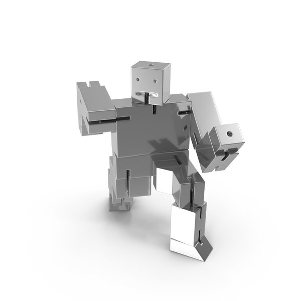 Silver Toy Robot PNG & PSD Images