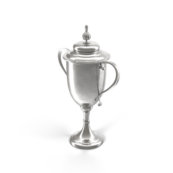 Silver Trophy Cup PNG & PSD Images