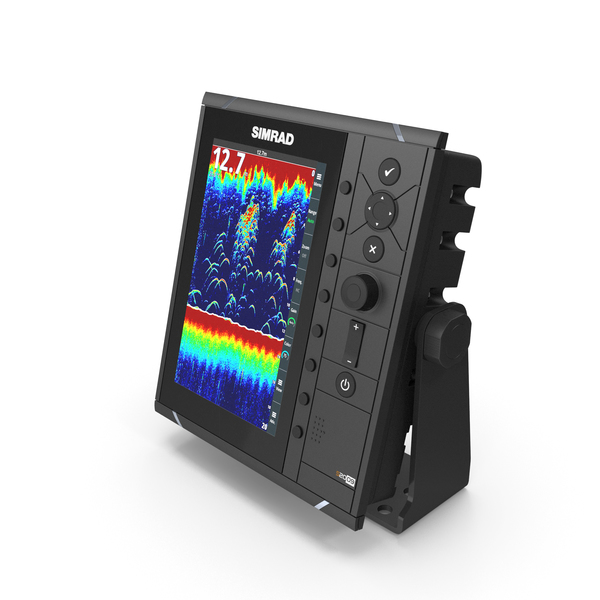 Simrad S2009 Fish Finder Sonar PNG & PSD Images