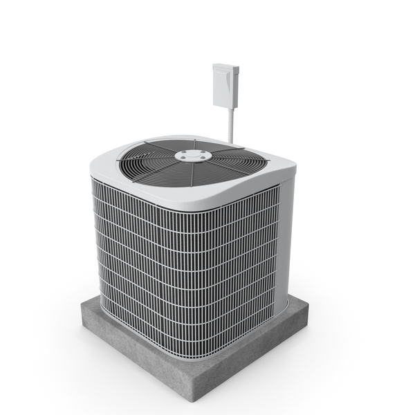 Single AC Unit PNG & PSD Images