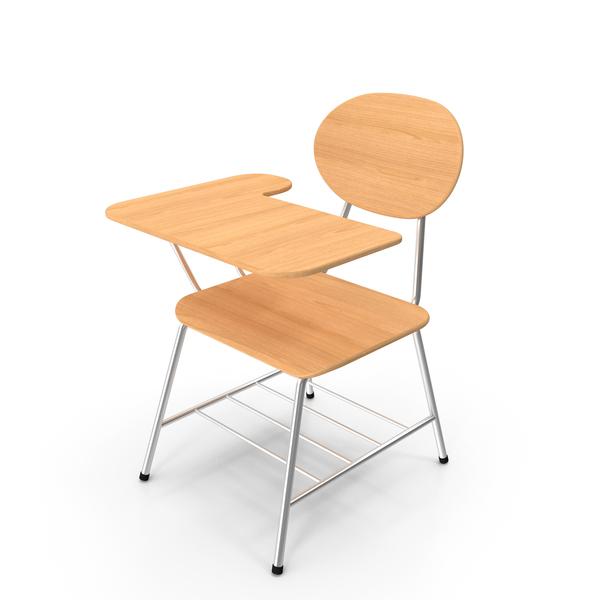 Single School Chair PNG & PSD Images