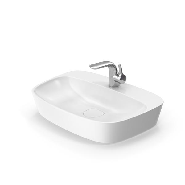 Sink Bathroom & Tap Faucet PNG & PSD Images