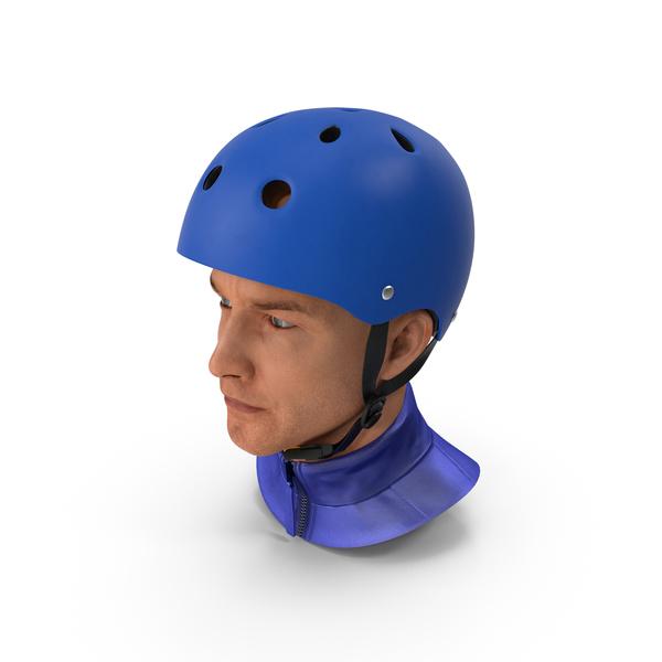 Skating: Skate Helmet on Head PNG & PSD Images