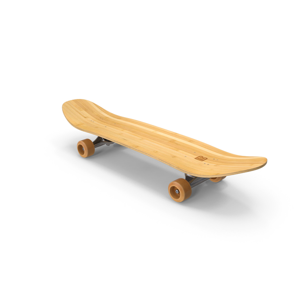 Skateboard Bamboo PNG & PSD Images