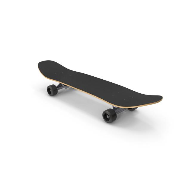Skateboard Black PNG & PSD Images