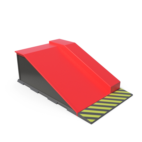 Skateboard Ramps Red PNG & PSD Images
