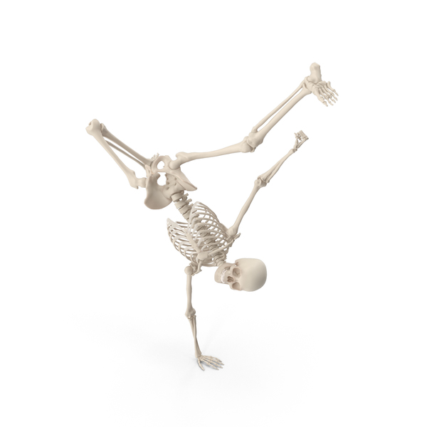 Skeleton Break Dance PNG & PSD Images
