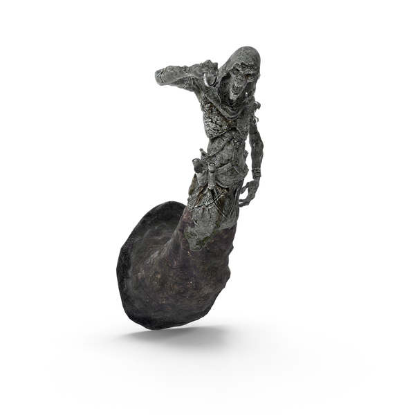 Statuette: Skeleton Statue PNG & PSD Images