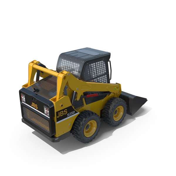 Skid Steer Loader PNG & PSD Images