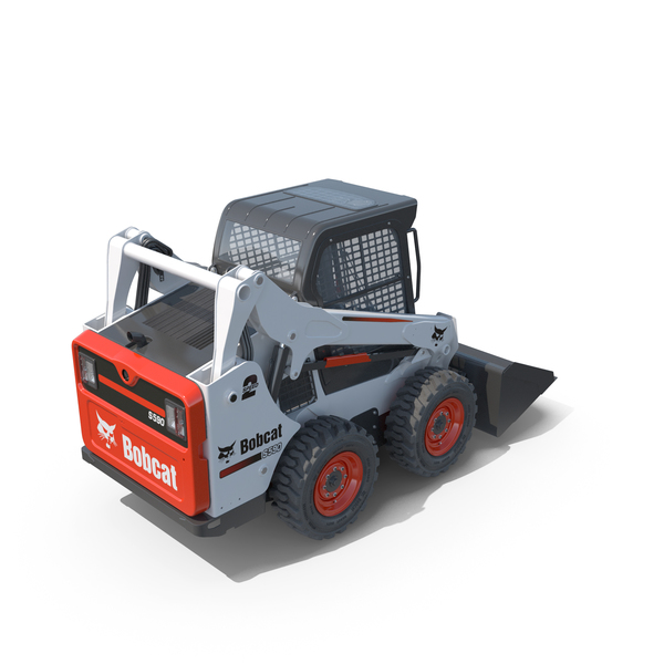 Skid steer Loader Bobcat S590 Construction equipment PNG & PSD Images