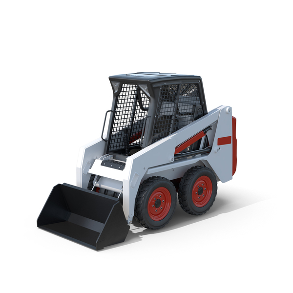 Skid-Steer Loader PNG & PSD Images