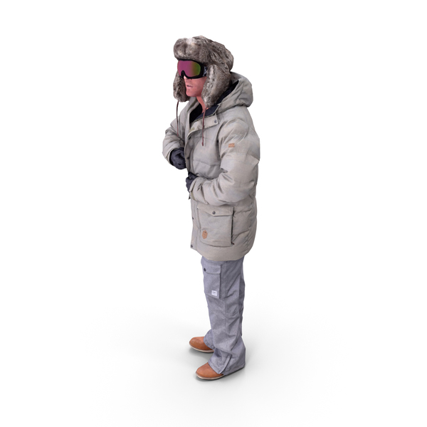 Skier Man Posed PNG & PSD Images