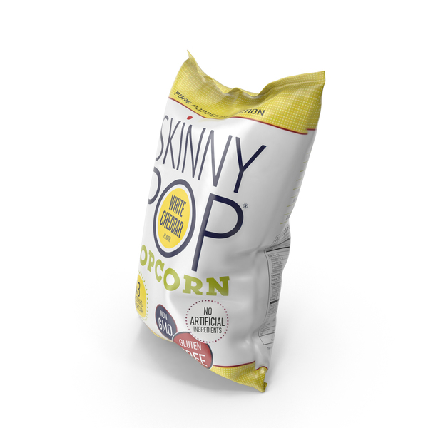 SkinnyPop White Cheddar Popcorn PNG & PSD Images