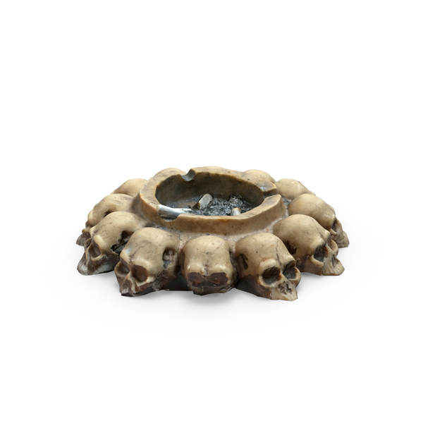 Skull Ash Tray PNG & PSD Images