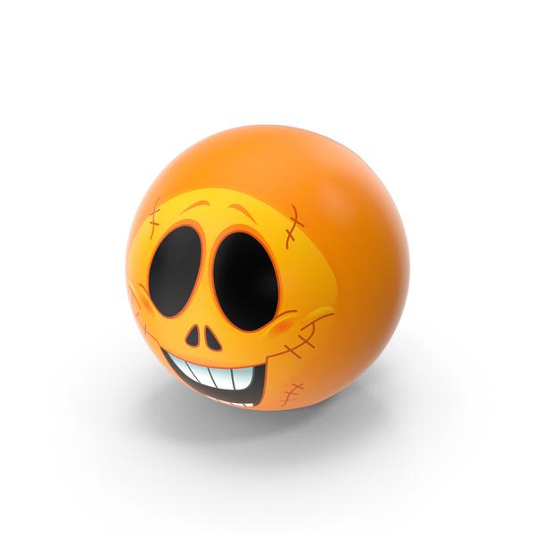 Skull Emoji PNG & PSD Images