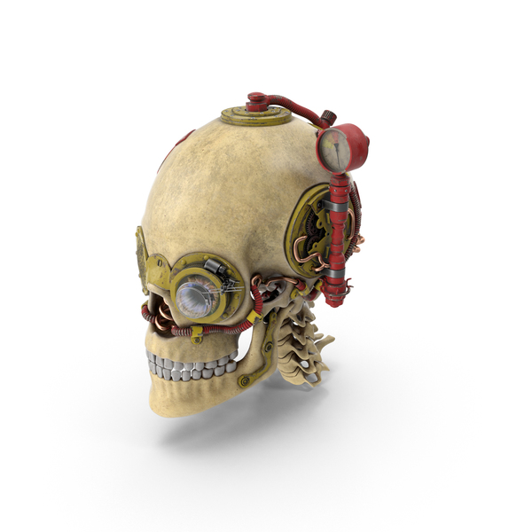 Skull Steampunk PNG & PSD Images