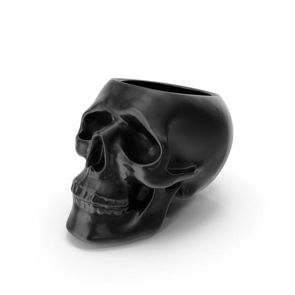 Skull Vase PNG & PSD Images