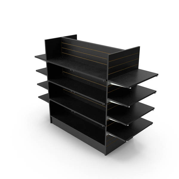 Slat Wall Shelves PNG & PSD Images