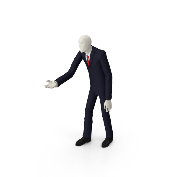 Characters: Slender Man PNG & PSD Images
