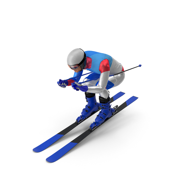 Slide Down Skier Generic PNG & PSD Images