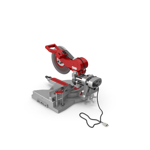 Sliding Compound Miter Saw PNG & PSD Images