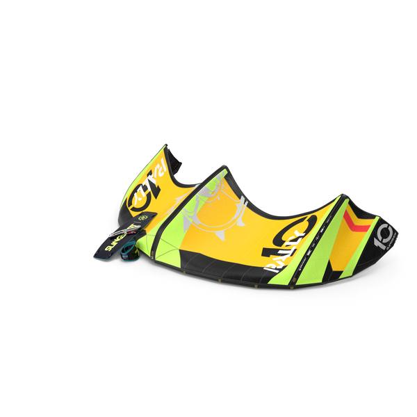 Slingshot Kitesurf Set Folded PNG & PSD Images