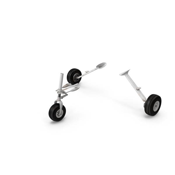 Small Aircraft Landing Gear PNG & PSD Images