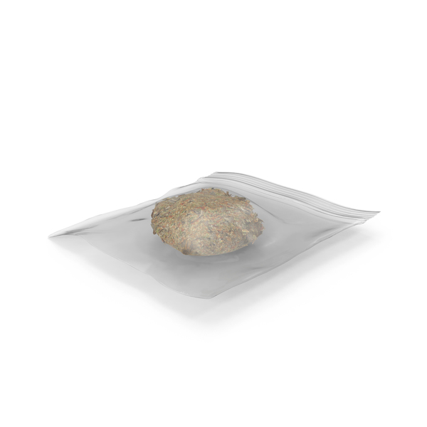 Small Bag of Marijuana PNG & PSD Images
