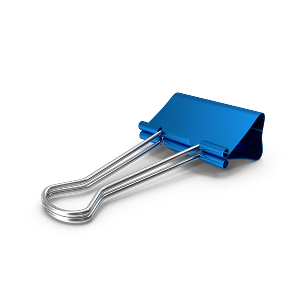 Clips: Small Binder Clip PNG & PSD Images