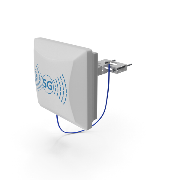 Small Cell 5G Antenna PNG & PSD Images