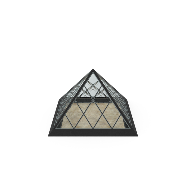 Pyramids: Small Glass Pyramid PNG & PSD Images