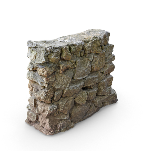 Small Rock Wall PNG & PSD Images