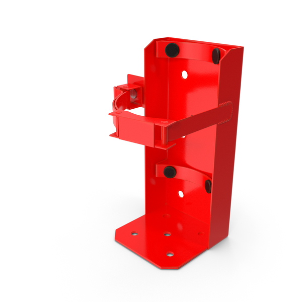 Small Size Mount for Fire Extinguisher PNG & PSD Images