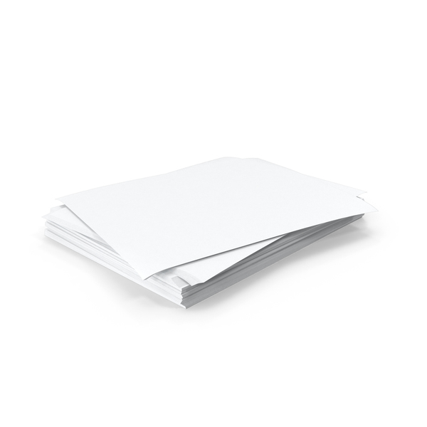 Small Stack of Paper Object