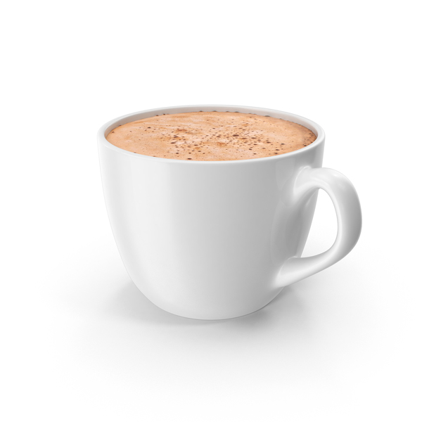 Small White Coffee Cup PNG & PSD Images