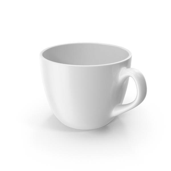Small White Cup PNG & PSD Images