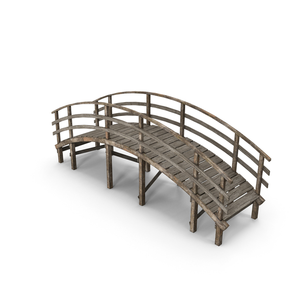 Small Wooden Bridge PNG & PSD Images