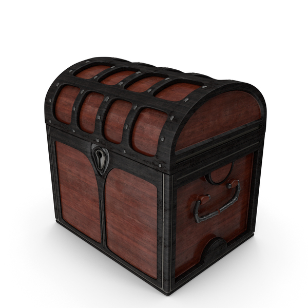 Small Wooden Chest Locked PNG & PSD Images