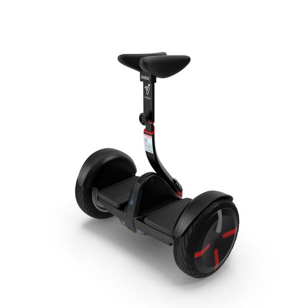 Hoverboard: Smart Self Balancing Personal Transporter Ninebot Minipro PNG & PSD Images